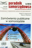 Kasprzycki Rafał R., Klamann Marcin - Zamówienia publiczne w samorządzie 3/2010