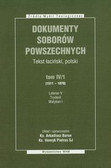 Baron Arkadiusz, Pietras Henryk - Dokumenty Soborów Powszechnych tom 4/1