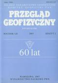 Przegląd Geofizyczny Rocznik LII 2007 Zeszyt 2. Kwartalnik