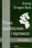 Harla Andrzej Grzegorz - Prawo upadłościowe i naprawcze. Zarys wykładu