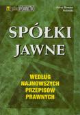 Feliński Jerzy Roman - Spółki jawne według najnowszych przepisów prawnych