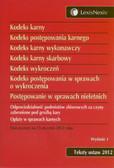 Opracowanie zbiorowe - Kodeks karny Kodeks postępowania karnego.Kodeks karny wykonawczy Kodeks karny skarbowy