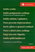 Kodeks cywilny Kodeks postępowania cywilnego Kodeks rodzinny i opiekuńczy Prawo prywatne międzynarodowe