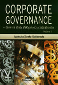 Słomka-Gołębiowska Agnieszka - Corporate governance - banki na straży efektywności przedsiębiorstw. Wydanie II