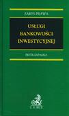 Zapadka Piotr - Usługi bankowości inwestycyjnej (egzemplarz przeceniony)