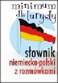 Słownik niemiecko-polski z rozmówkami Minimum dla turysty