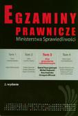 Kupryjańczyk Daniel, Rojewski Michał, Stawicka Ewa - Egzaminy prawnicze MS Akta gospodarcze i administracyjne t.3