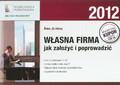 Jeleńska Anna - Własna firma jak założyć i poprowadzić