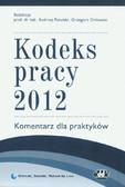 Praca zbiorowa - Kodeks pracy 2012 Komentarz dla praktyków