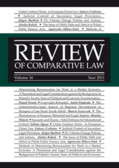 Review of Comparative Law. Vol. 16