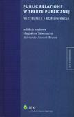 red. Tabernacka Magdalena, red. Szadok-Bratuń Aleksandra - Public relations w sferze publicznej. Wizerunek i komunikacja