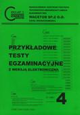 red. Wiśniewska Urszula, red. Kowalska Marzena - Przykładowe testy egzaminacyjne 4 z wersją elektroniczną