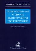 Bogdanowicz Piotr - Interes publiczny w prawie energetycznym Unii Europejskiej