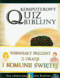 Komputerowy quiz biblijny Gra edukacyjna dla całej rodziny
