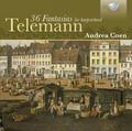 Andrea Coen - Telemann: 36 Fantasies for harpsichord