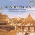 Radio Kamerokest, Frans Bruggen - Mendelssohn: Symphonies 1 & 4 'Italian'
