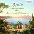 Amati Ensemble String Quartett - Paganini: String Quartets Nos. 1-3;