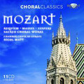 Chamber Choir of Europe, Nicol Matt - Choral Classics: Mozart. requiem - Masses - Vespers - Sacred Choral Works