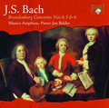 Musica Amphion, Pieter-Jan Belder - J.S. Bach: Brandenburg Concertos Nos 4, 5 & 6