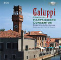 Roberto Loreggian, Ensemble Conserto Musico - Galuppi: Complete Harpsichord Concertos