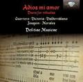 Jesus Sanchez, Manuel Minguillon Nieto - Adios mi amor Duets for  Vihuelas