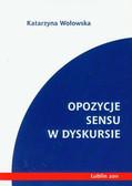 Wołowska Katarzyna - Opozycje sensu w dyskursie