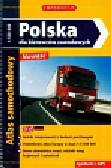 Polska dla kierowców zawodowych atlas samochodowy 1:550 000