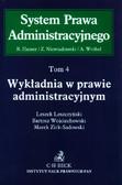 Leszczyński Leszek, Zirk-Sadowski Marek, Wojciechowski Bartosz - Wykładnia w prawie administracyjnym Tom 4