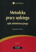 Dauter Bogusław - Metodyka pracy sędziego sądu administracyjnego