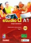 Studio d A1 Język niemiecki Podręcznik z ćwiczeniami tom 1 + CD szkoła ponadgimnazjalna