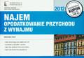 Dyszy Wiesława - Najem Opodatkowanie przychodu z wynajmu