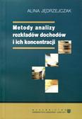 Jędrzejczak Alina - Metody analizy rozkładów dochodów i ich koncentracji