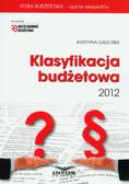 Gąsiorek Krystyna - Klasyfikacja budżetowa 2012 z płytą CD