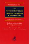 Skoblenko Aleksander - Wzory umów i pism z CD Tom 12. Wydanie polsko - rosyjskie