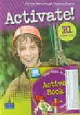 Barraclough Carolyn, Gaynor Suzanne - Activate B1 Student`s Book plus Active Book z płytą CD