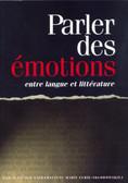 Parler des emotions entre langue et litterature