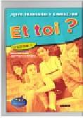 Lopes Marie-Jose, Le Bpugnec Jean-Thierry - Et toi ? 1 Podręcznik