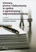 Turkowski Sławomir - Umowy, pisma i dokumenty w spółce z ograniczoną odpowiedzialnością