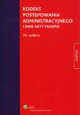 Kodeks postępowania administracyjnego i inne akty prawne