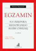 Stepaniuk Mariusz - Egzamin na urzędnika mianowanego służby cywilnej