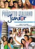 Marin Telis, Albano A. - Progetto Italiano Junior 1 Podręcznik z ćwiczeniami + CD