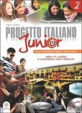 Marin Telis, Albano A. - Progetto Italiano Junior 2 Podręcznik + CD. Gimnazjum