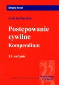 Zieliński Andrzej - Postępowanie cywilne Kompendium