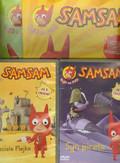 SamSam 2 DVD + dwa zeszyty zabaw. Pakiet
