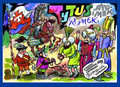 Chmielewski Henryk Jerzy - Tytus Romek i A`Tomek w odsieczy wiedeńskiej 1683 roku z wyobraźni Papcia Chmiela narysowani