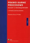 Korcyl-Wolska Marianna - Prawo karne procesowe. Kazusy z rozwiązaniami