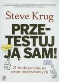 Krug Steve - Przetestuj ją sam! O funkcjonalności stron internetowych