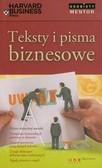 Teksty i pisma biznesowe. Osobisty mentor