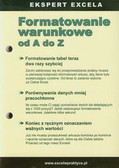 Formatowanie warunkowe od A do Z