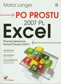 Langer Maria - Po prostu Excel 2007 PL
